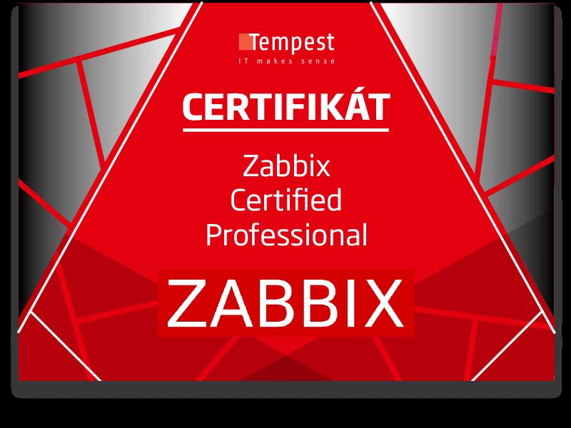 V TEMPEST-e máme nové špičkové kompetencie pre oblasť monitoringu (Zabbix)