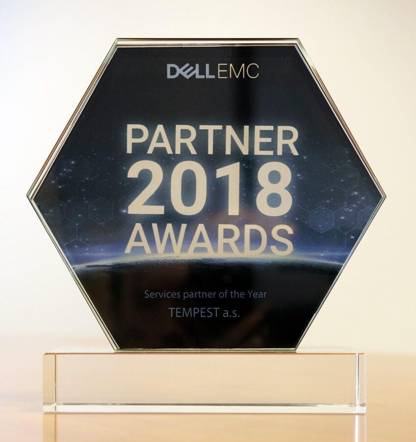 Ocenenie Dell EMC