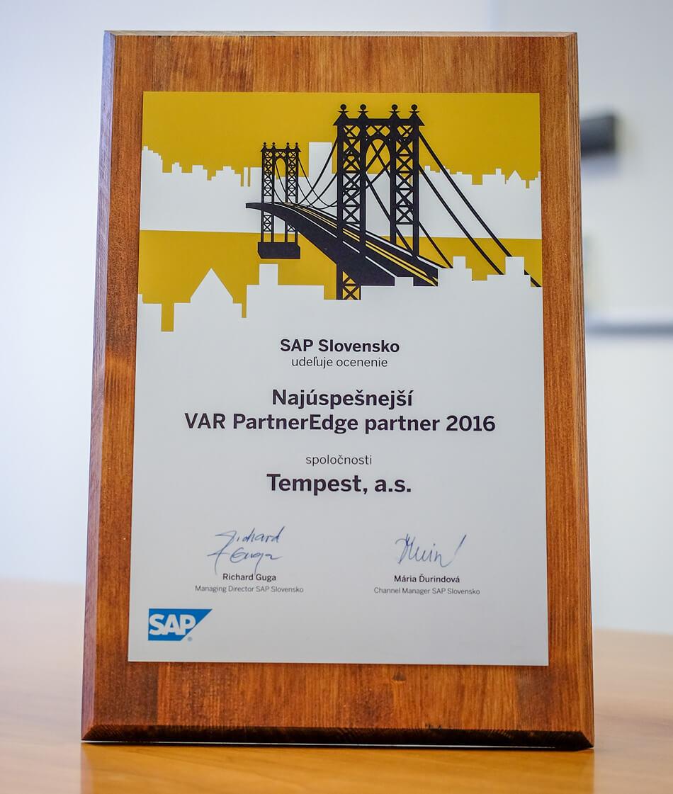 Najúspešnejší SAP partner - TEMPEST